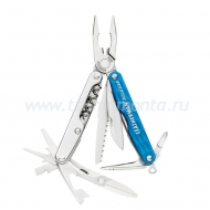 Мультитул Leatherman Juice CS4 голубой